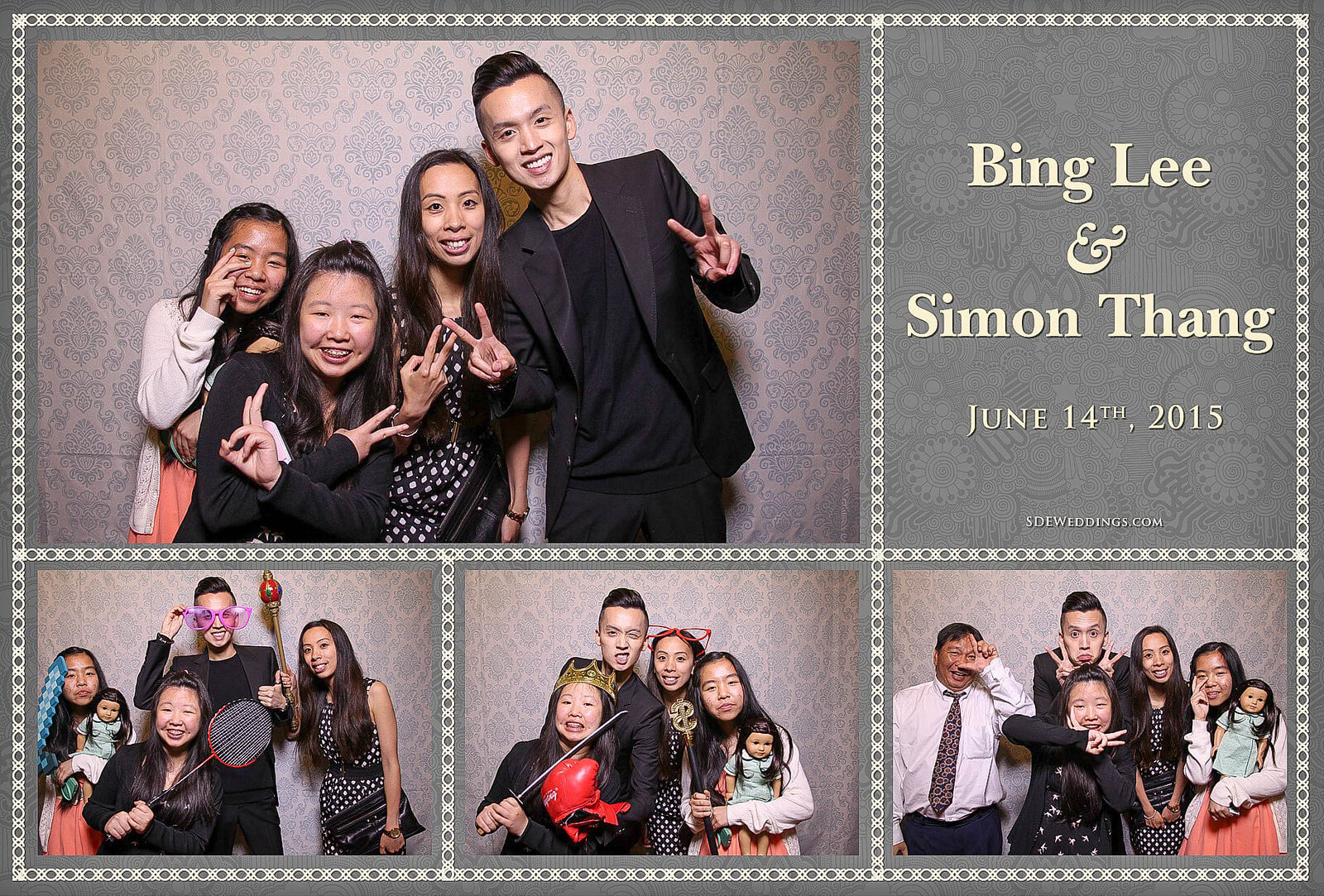 University of Toronto Hart House Wedding Photobooth Rental 3