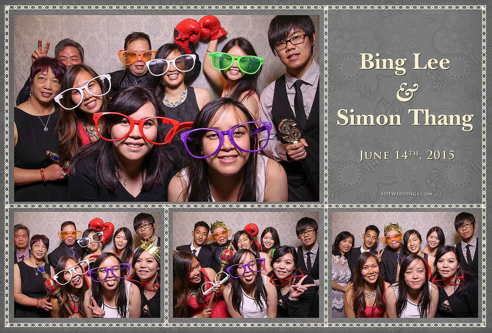 University of Toronto Hart House Wedding Photobooth Rental 4