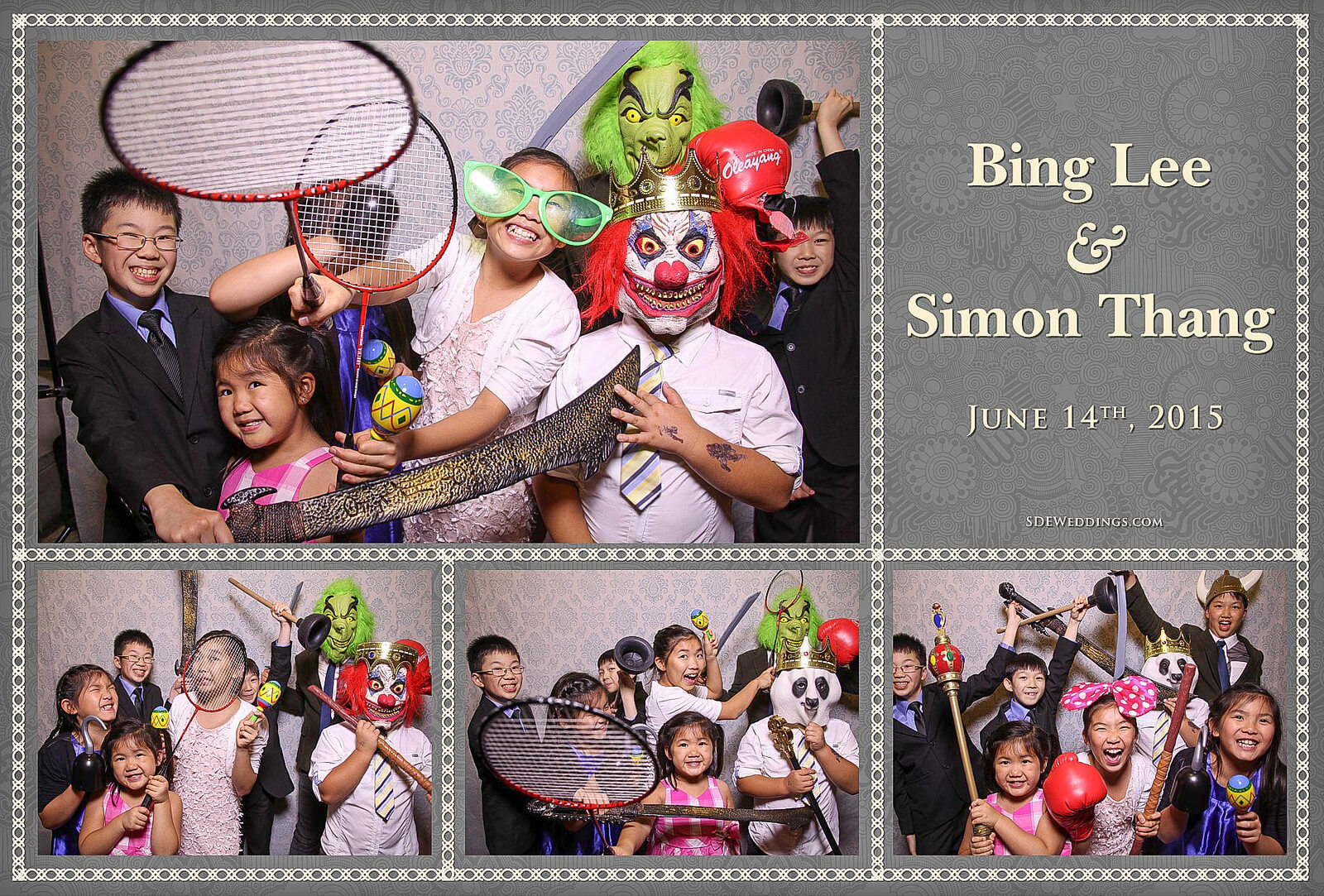 University of Toronto Hart House Wedding Photobooth Rental 5