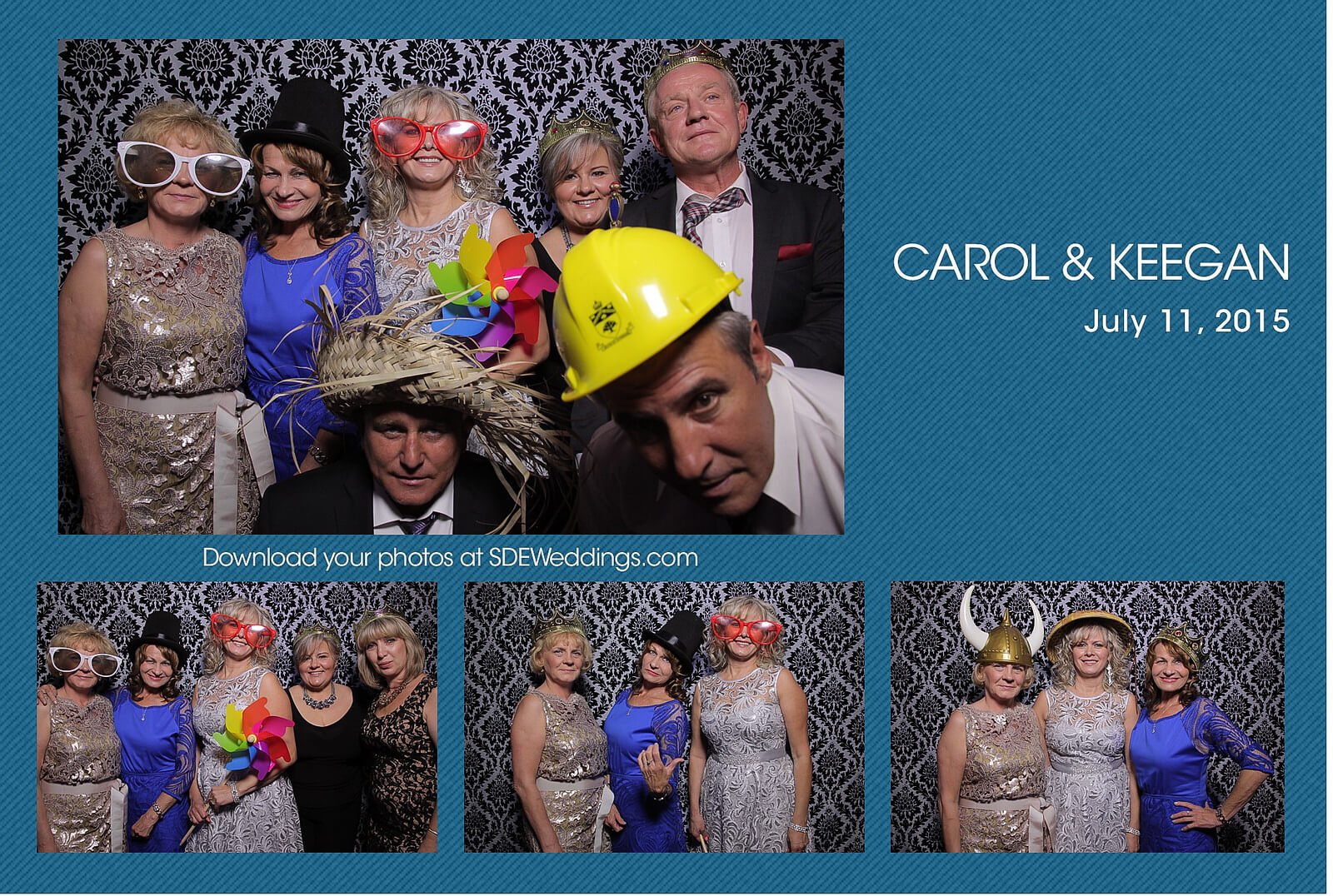 Mississauga Convention Centre Polish Wedding Photobooth 6