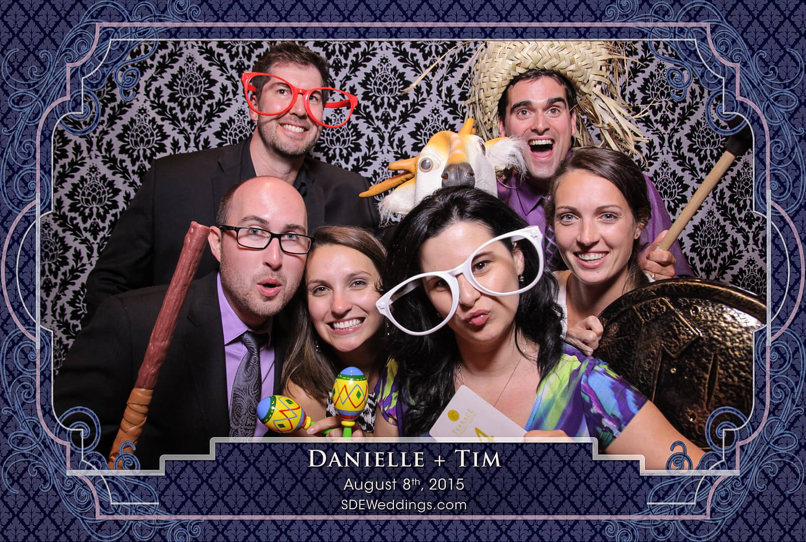 Toronto Old Mill Inn Wedding Photo Booth Rental 5