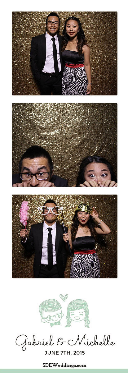 Toronto Atlantis Pavilion Chinese Wedding Photo Booth Rental 1