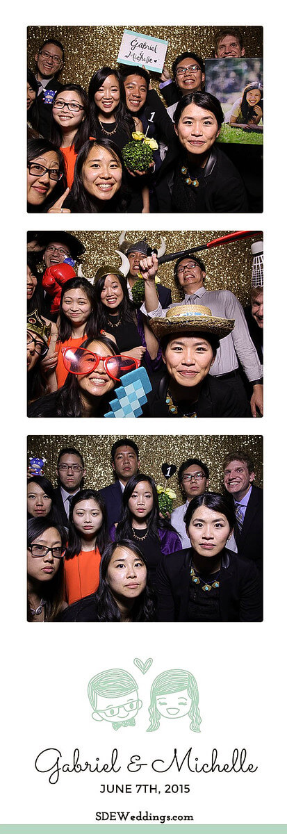 Toronto Atlantis Pavilion Chinese Wedding Photo Booth Rental 11