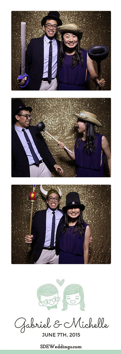 Toronto Atlantis Pavilion Chinese Wedding Photo Booth Rental 12