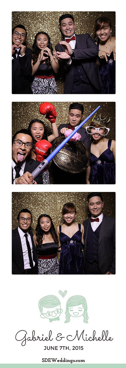 Toronto Atlantis Pavilion Chinese Wedding Photo Booth Rental 2