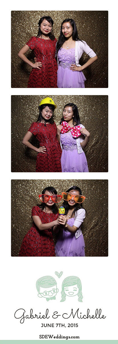 Toronto Atlantis Pavilion Chinese Wedding Photo Booth Rental 3