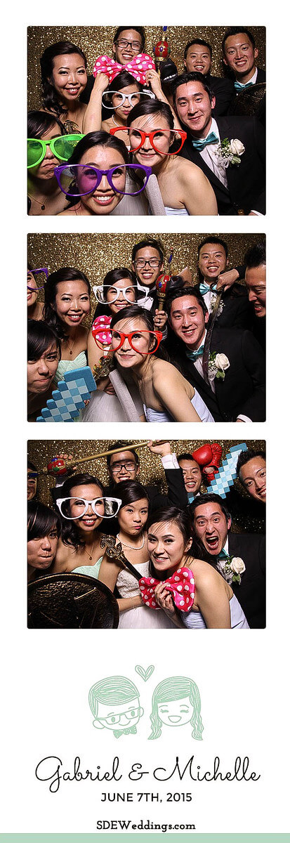 Toronto Atlantis Pavilion Chinese Wedding Photo Booth Rental 4
