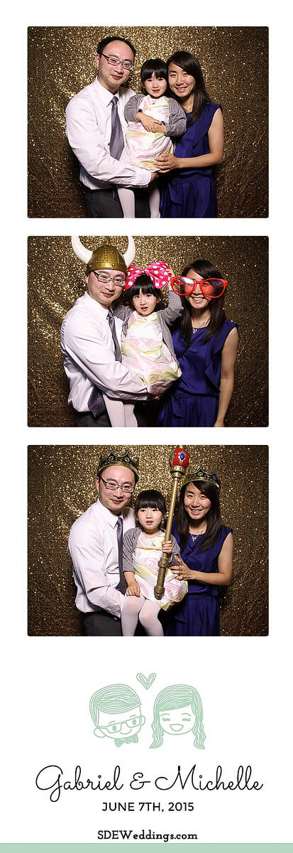 Toronto Atlantis Pavilion Chinese Wedding Photo Booth Rental 5