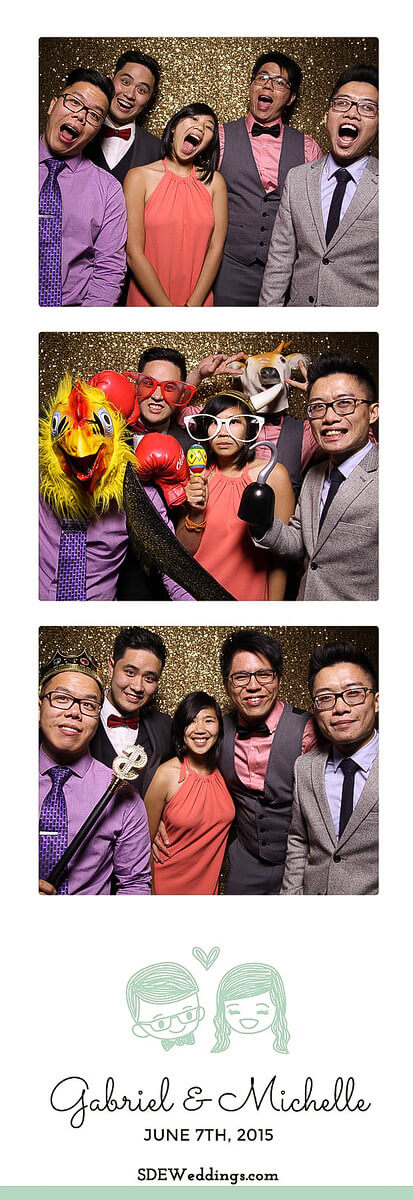 Toronto Atlantis Pavilion Chinese Wedding Photo Booth Rental 6