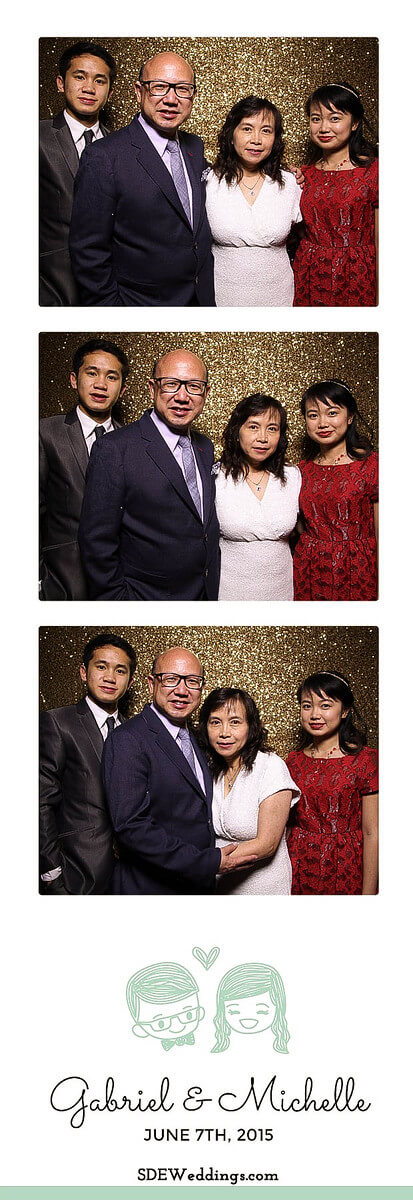 Toronto Atlantis Pavilion Chinese Wedding Photo Booth Rental 7