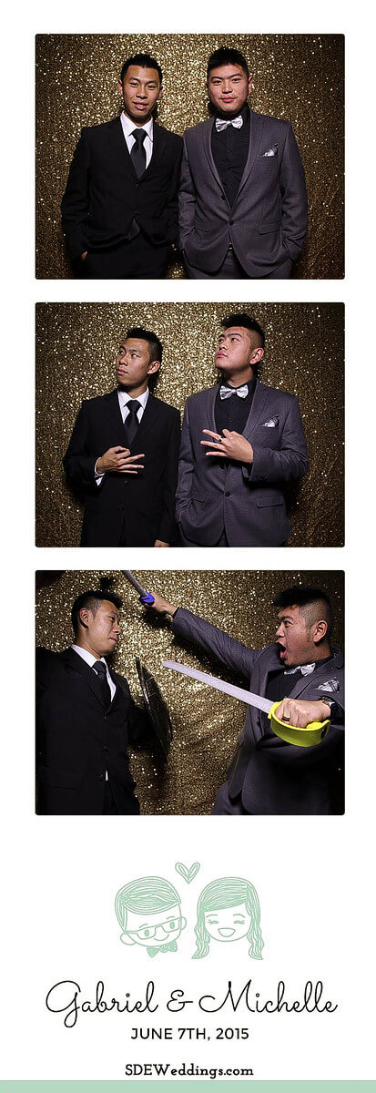 Toronto Atlantis Pavilion Chinese Wedding Photo Booth Rental 8