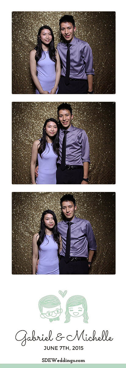 Toronto Atlantis Pavilion Chinese Wedding Photo Booth Rental 9