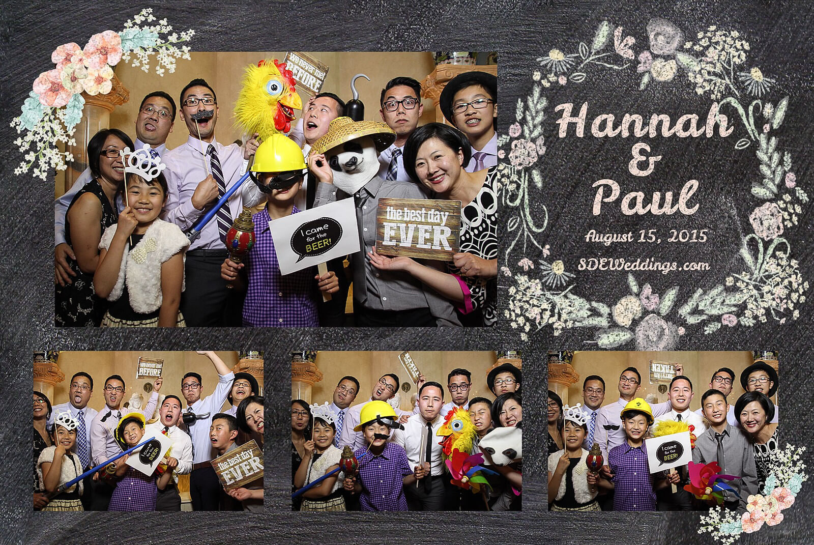 Markham Premiere Banquet Wedding Photobooth Rental 1