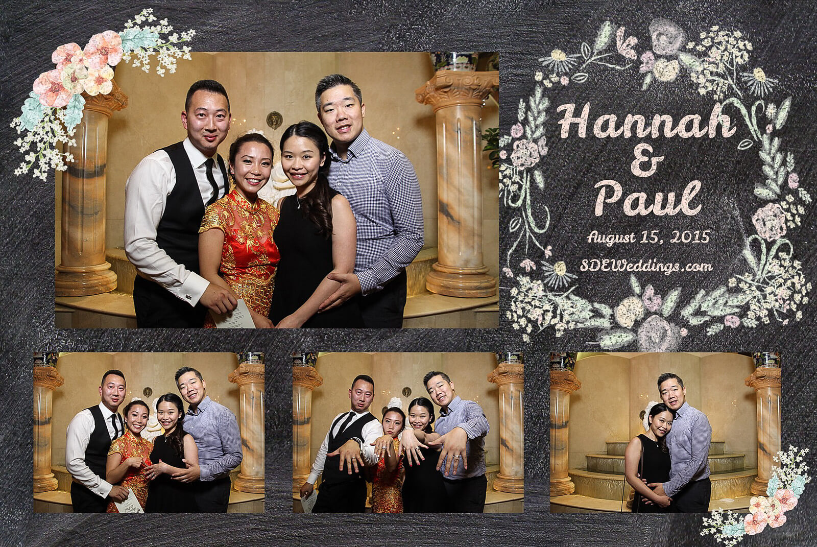 Markham Premiere Banquet Wedding Photobooth Rental 10