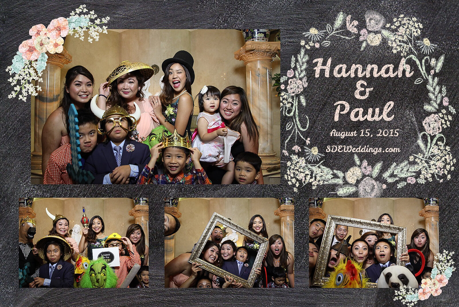 Markham Premiere Banquet Wedding Photobooth Rental 11