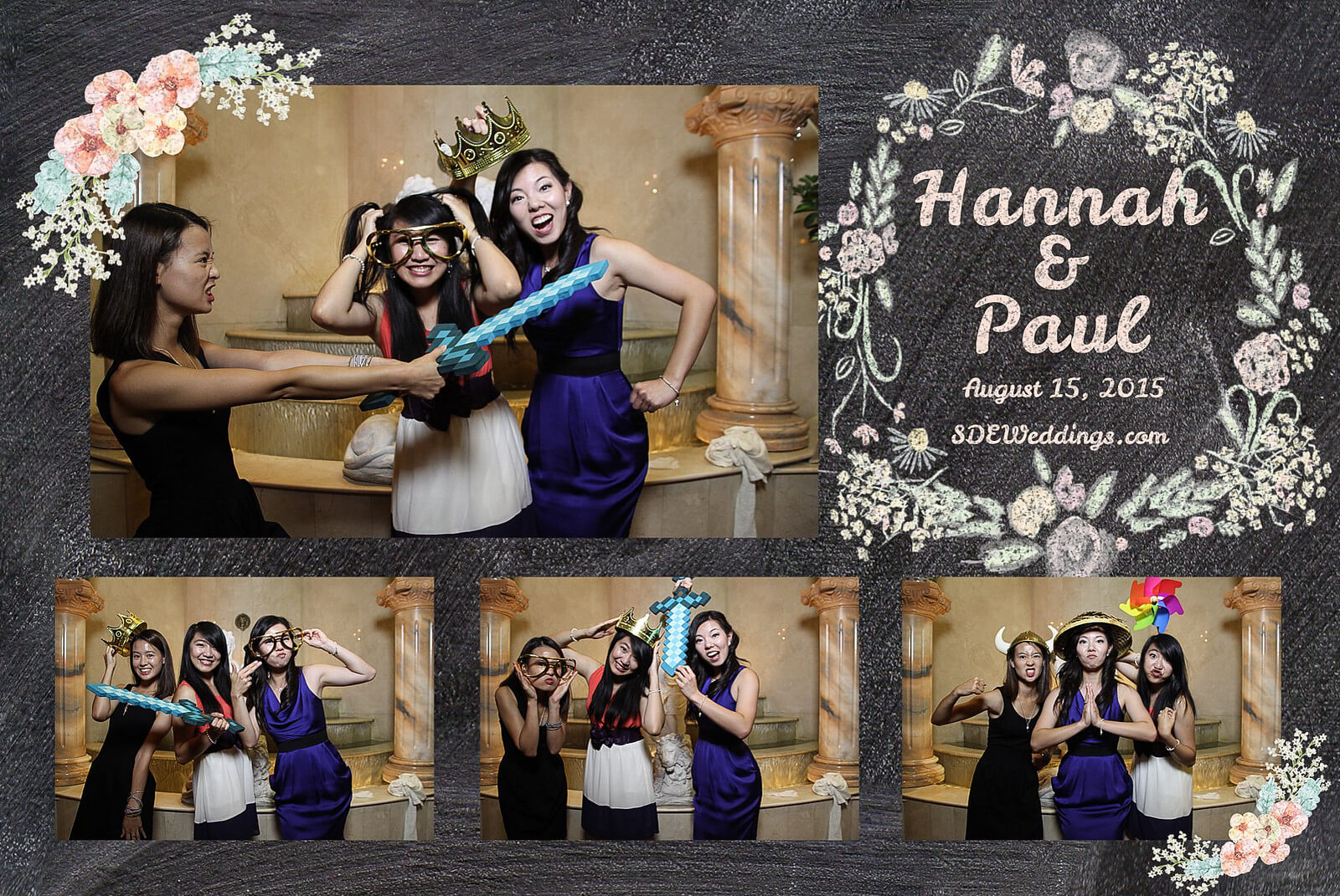 Markham Premiere Banquet Wedding Photobooth Rental 12