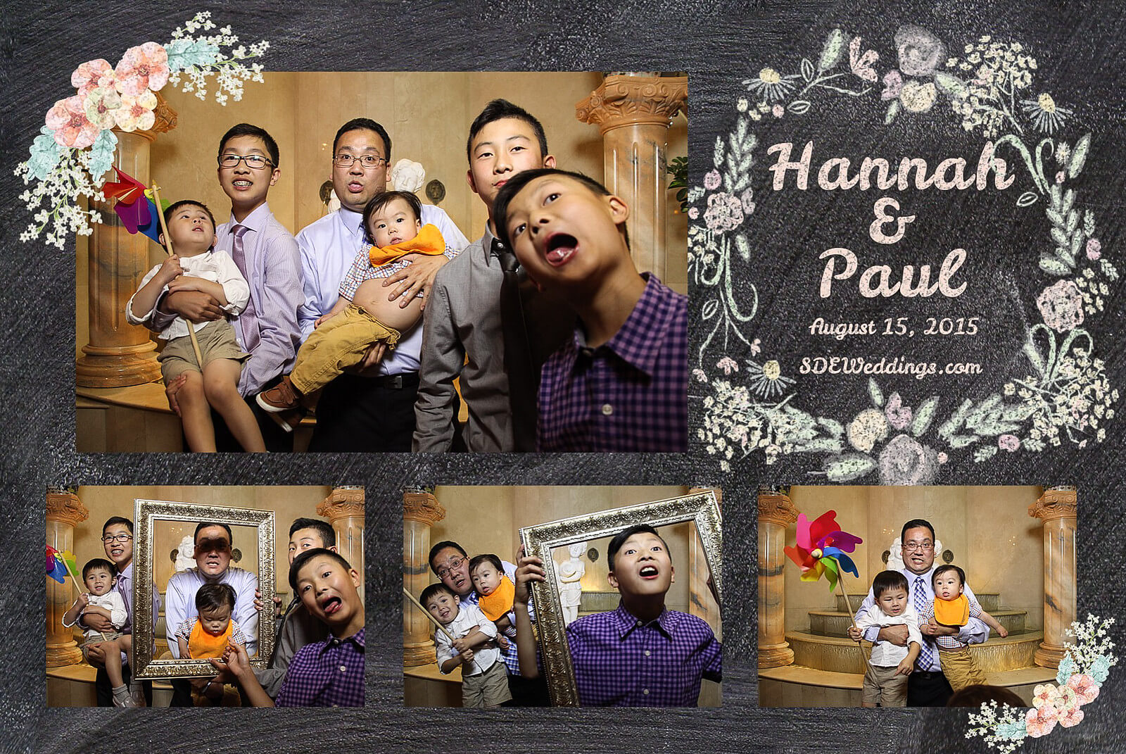 Markham Premiere Banquet Wedding Photobooth Rental 2