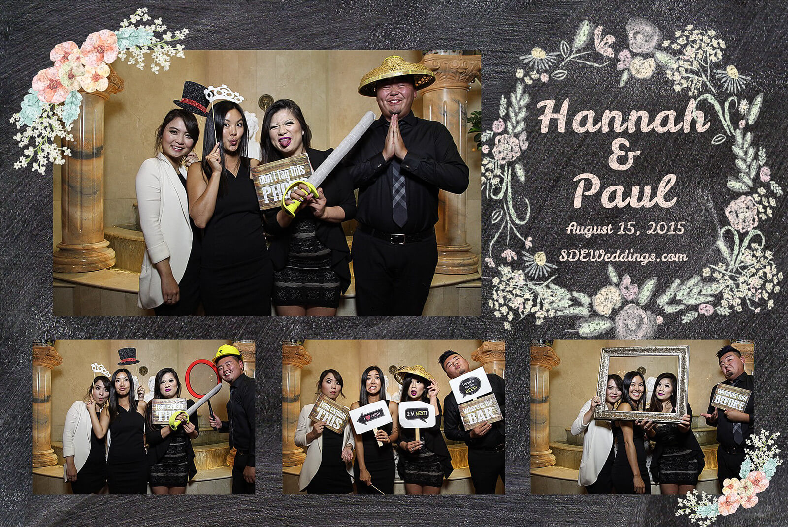 Markham Premiere Banquet Wedding Photobooth Rental 4