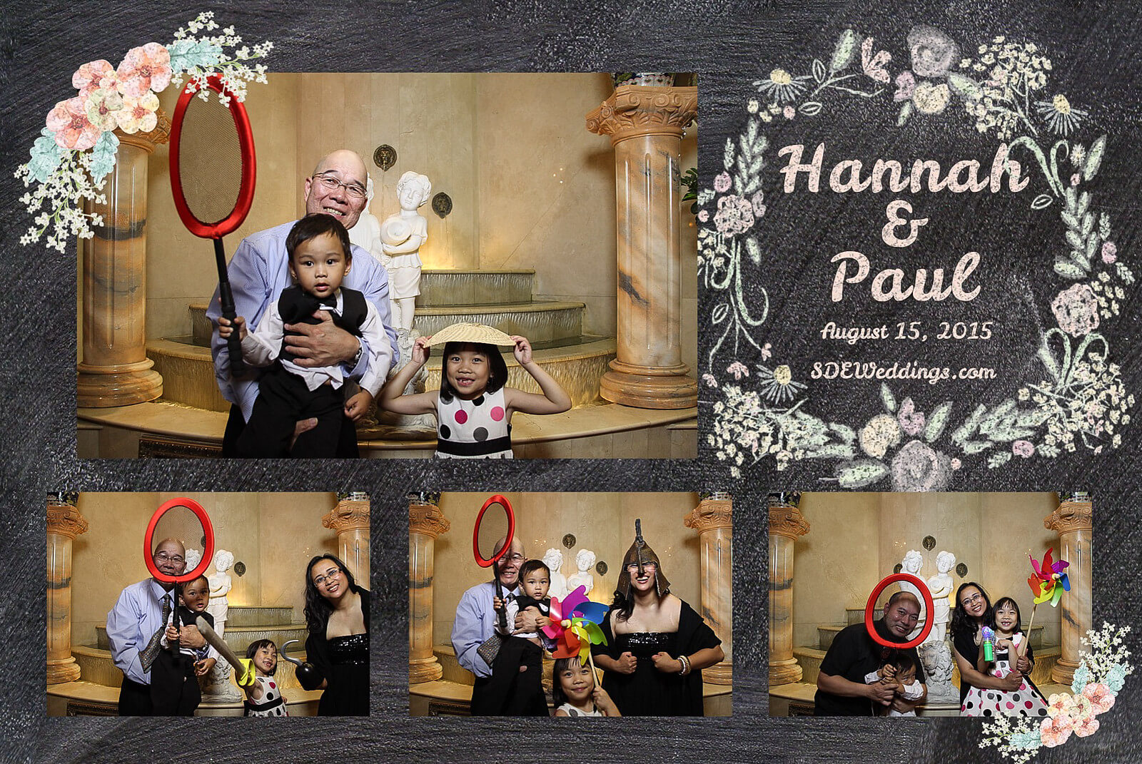 Markham Premiere Banquet Wedding Photobooth Rental 5