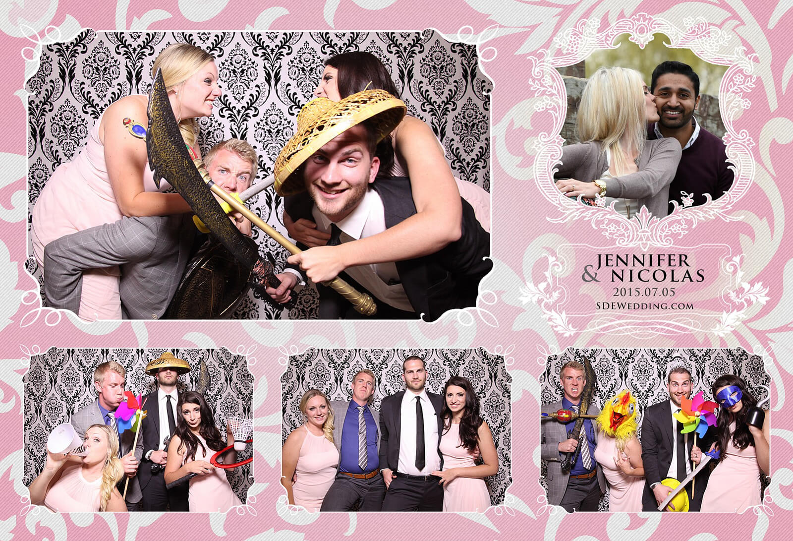 Toronto Liberty Grand Wedding Reception Photo Booth Rental 1