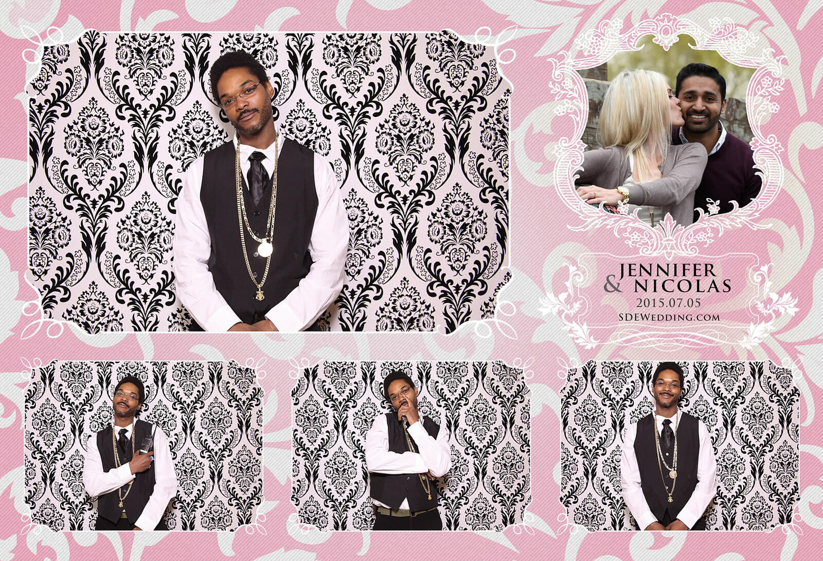 Toronto Liberty Grand Wedding Reception Photo Booth Rental 10