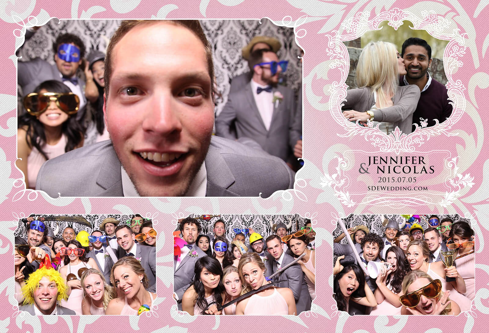 Toronto Liberty Grand Wedding Reception Photo Booth Rental 2