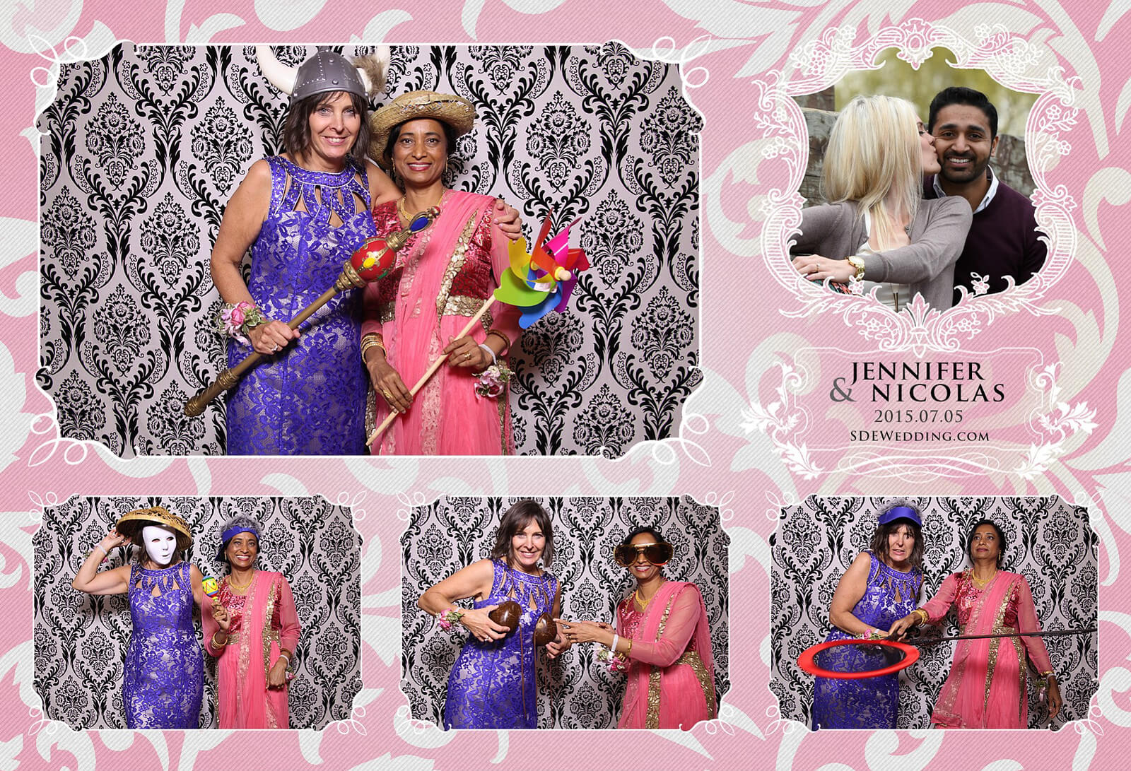 Toronto Liberty Grand Wedding Reception Photo Booth Rental 3