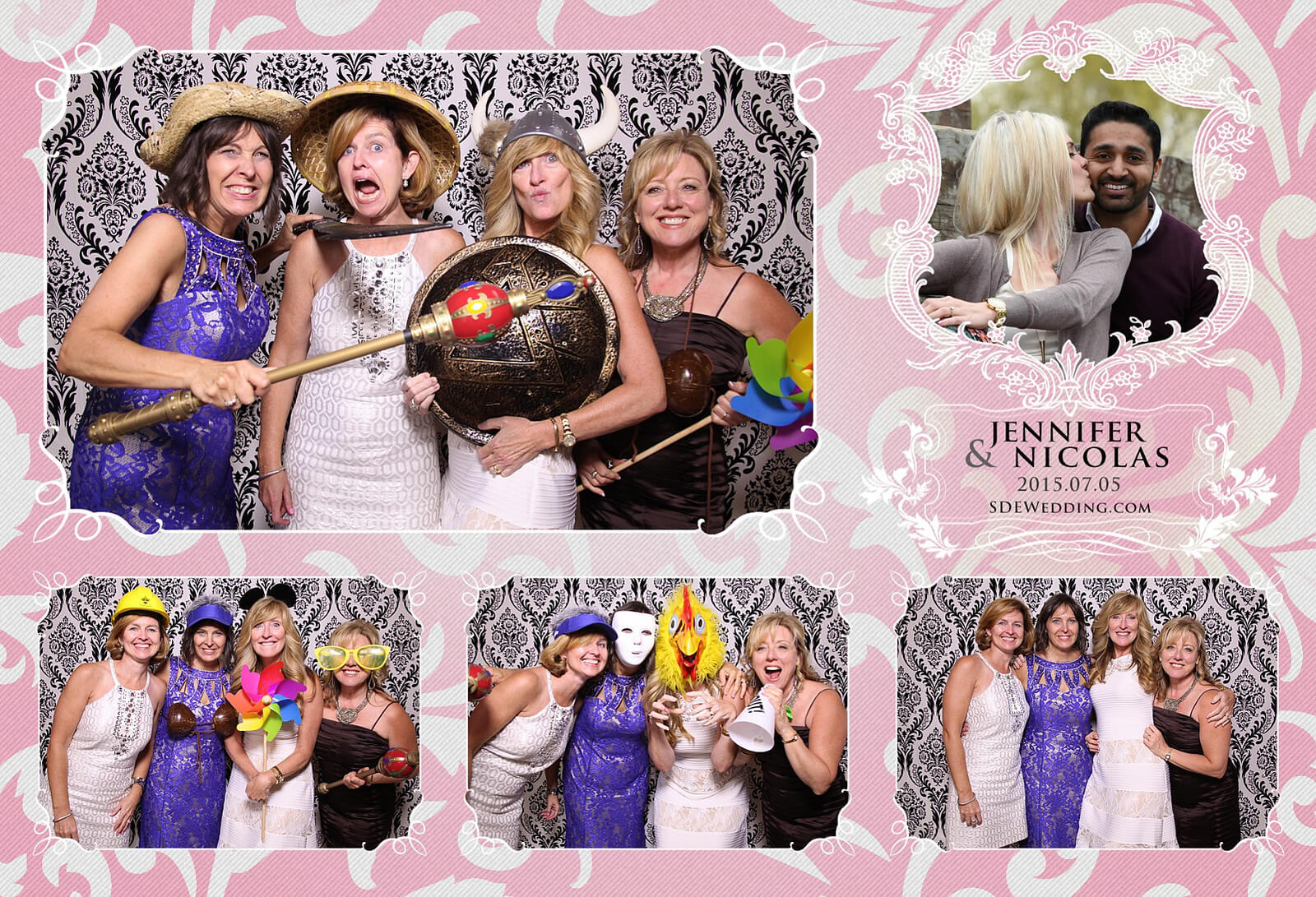 Toronto Liberty Grand Wedding Reception Photo Booth Rental 4