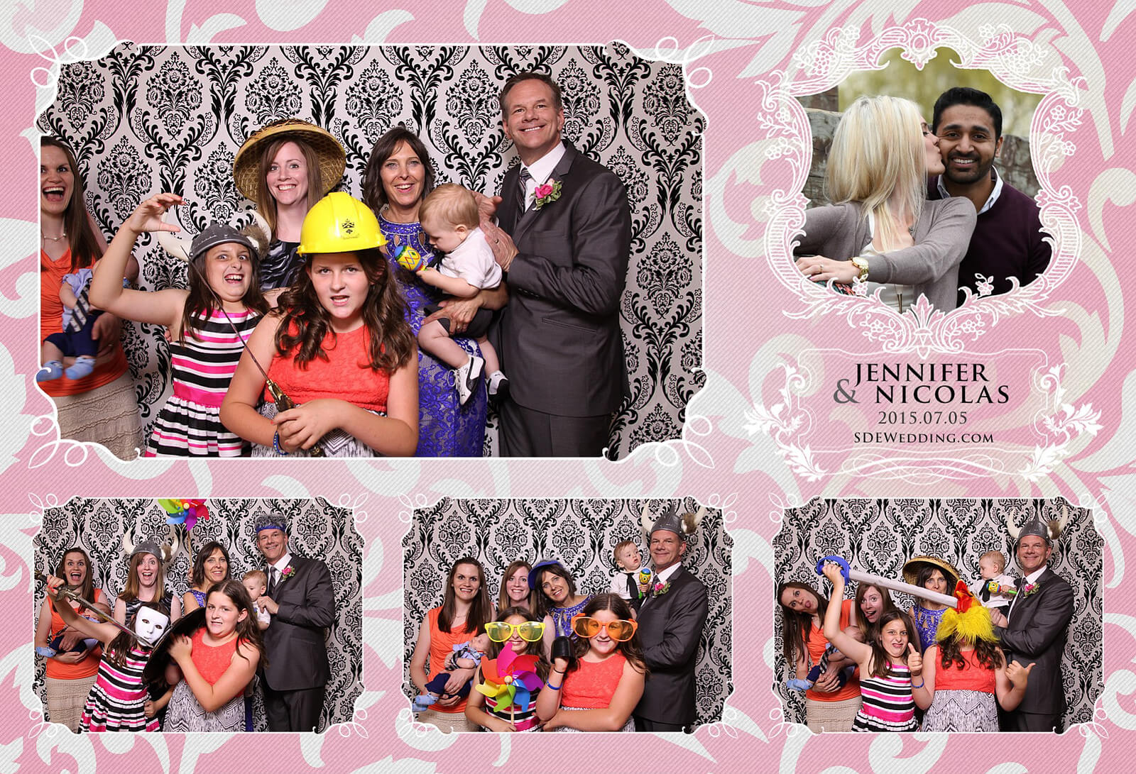 Toronto Liberty Grand Wedding Reception Photo Booth Rental 5