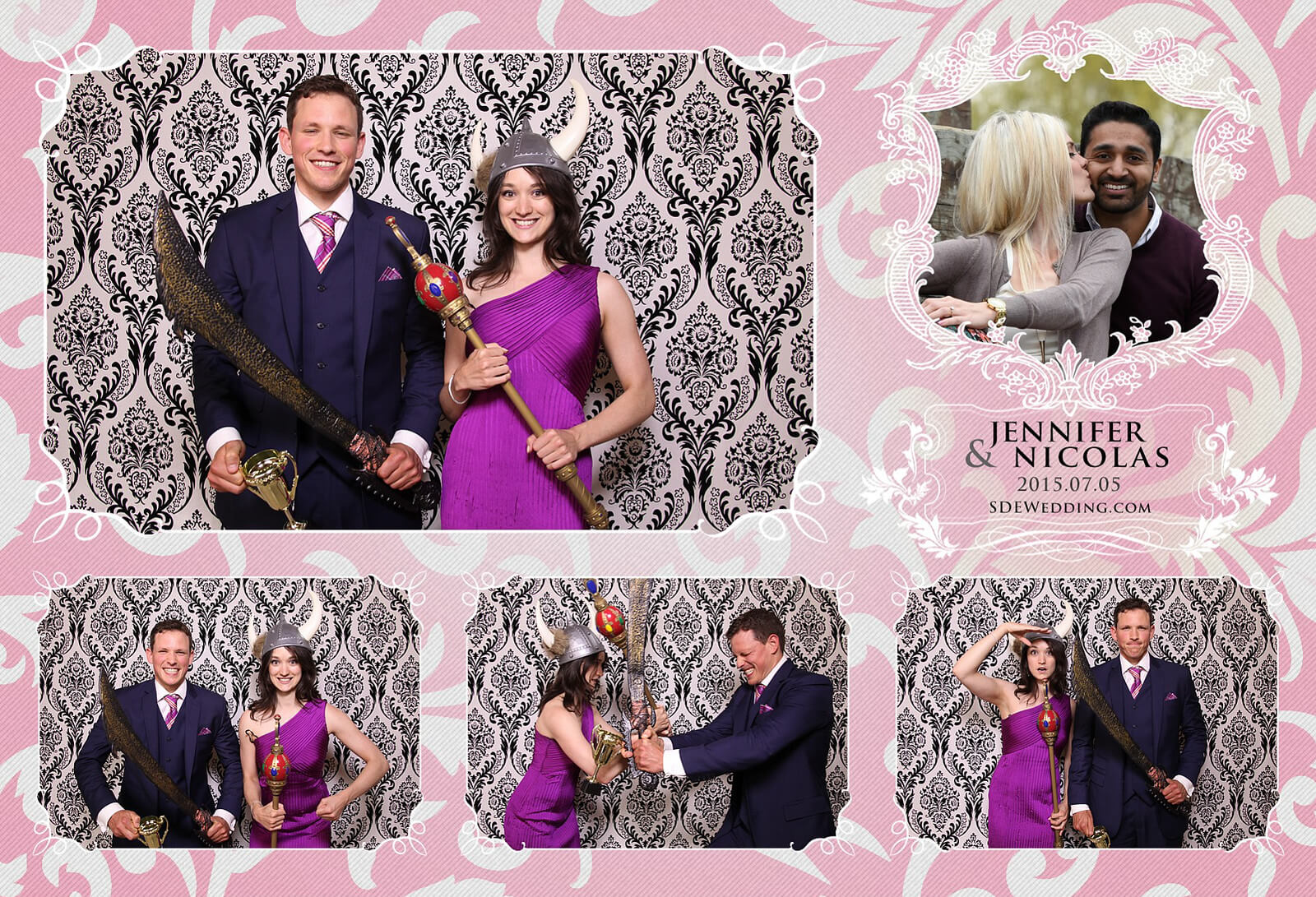 Toronto Liberty Grand Wedding Reception Photo Booth Rental 6