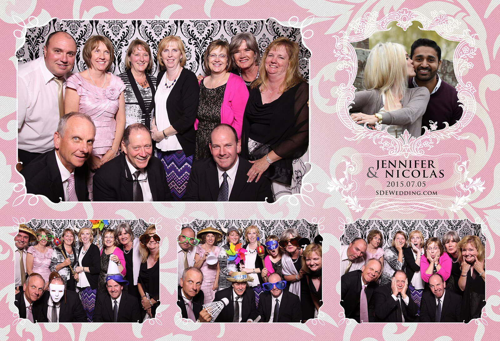 Toronto Liberty Grand Wedding Reception Photo Booth Rental 7