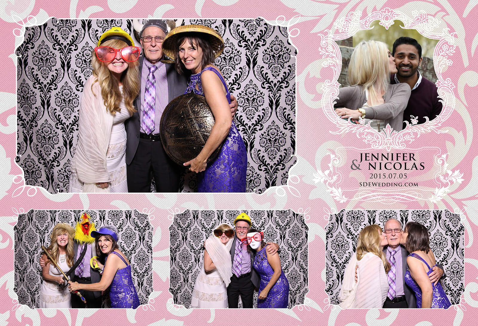 Toronto Liberty Grand Wedding Reception Photo Booth Rental 9