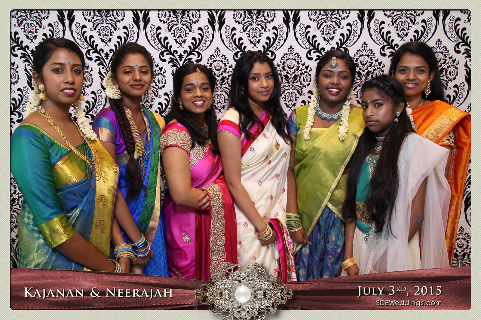Toronto Scarborough Convention Centre Hindu Wedding Photo Booth Rental 1