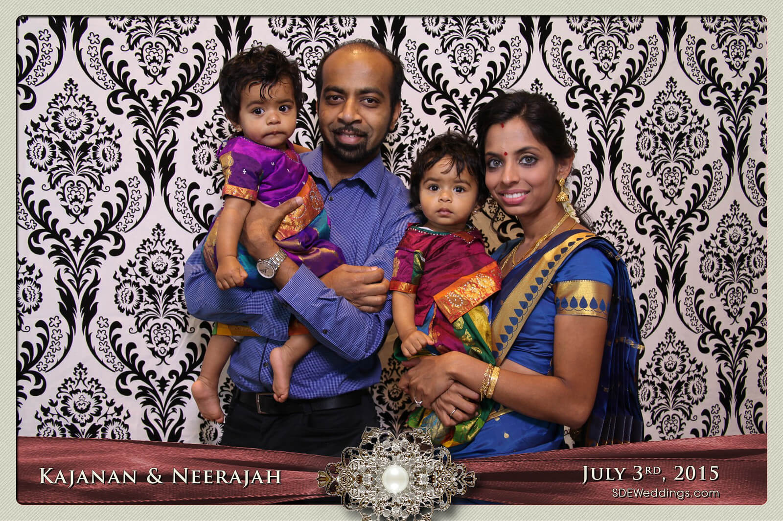 Toronto Scarborough Convention Centre Hindu Wedding Photo Booth Rental 10