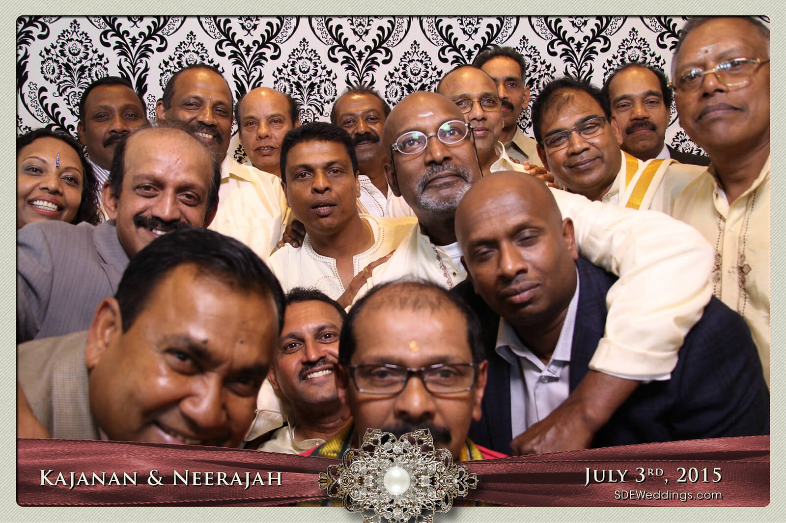 Toronto Scarborough Convention Centre Hindu Wedding Photo Booth Rental 11