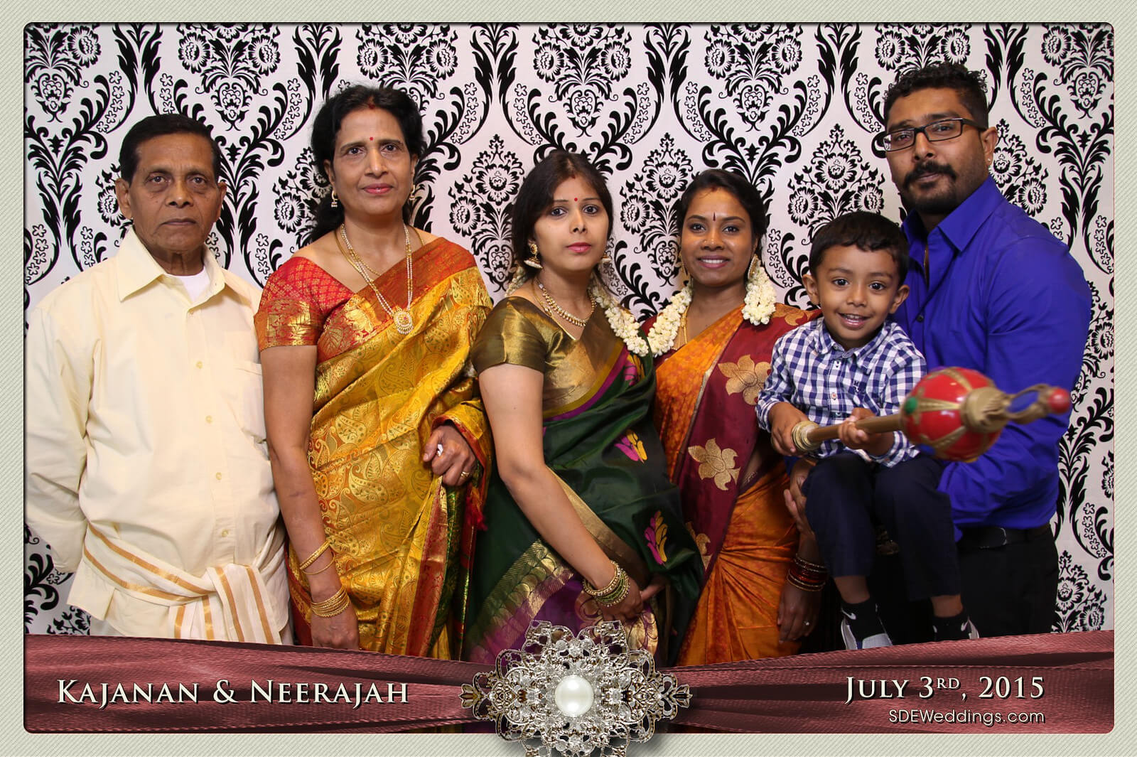 Toronto Scarborough Convention Centre Hindu Wedding Photo Booth Rental 12