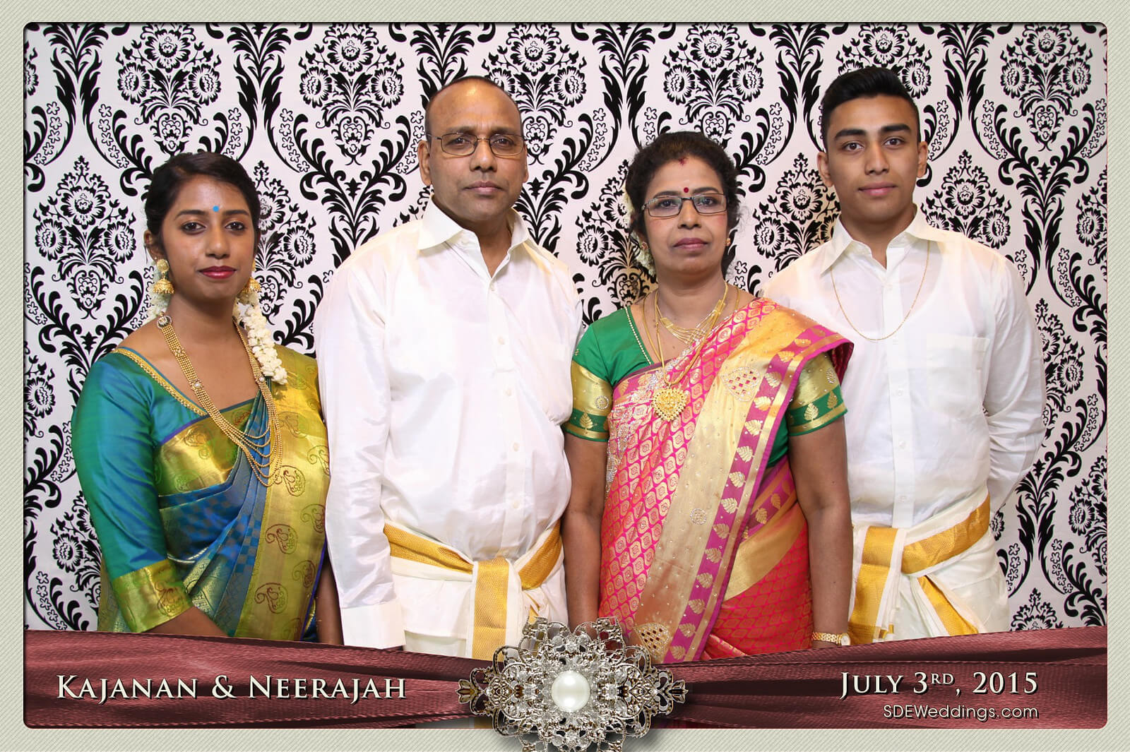 Toronto Scarborough Convention Centre Hindu Wedding Photo Booth Rental 2