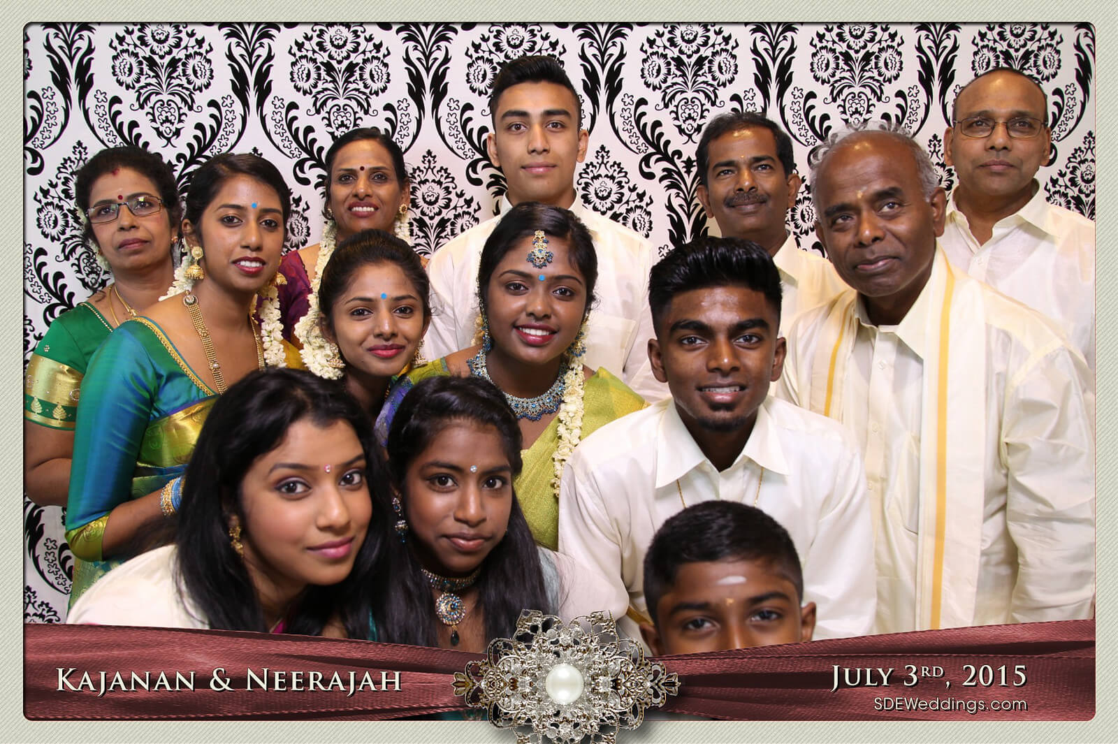 Toronto Scarborough Convention Centre Hindu Wedding Photo Booth Rental 3