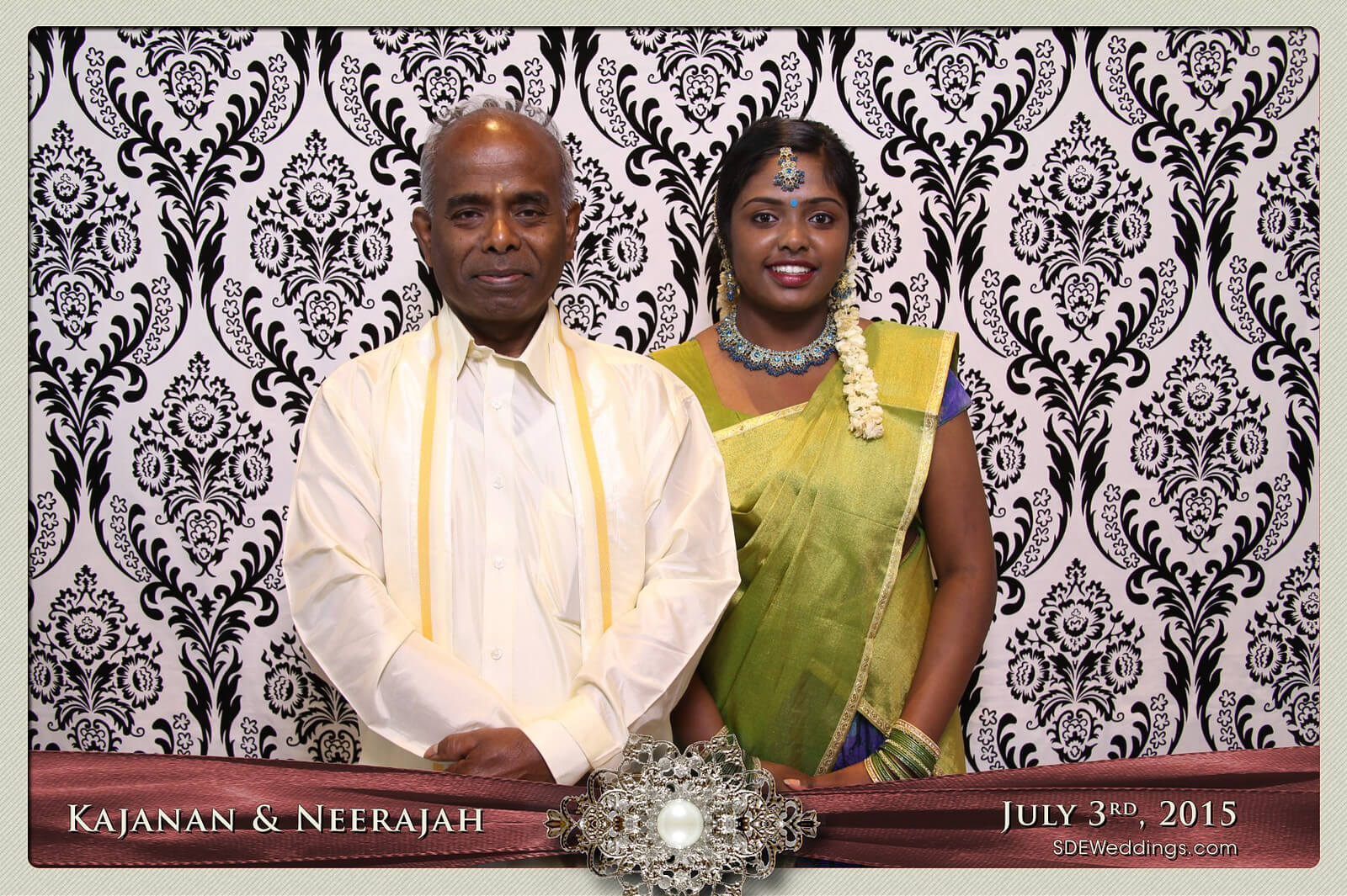 Toronto Scarborough Convention Centre Hindu Wedding Photo Booth Rental 4