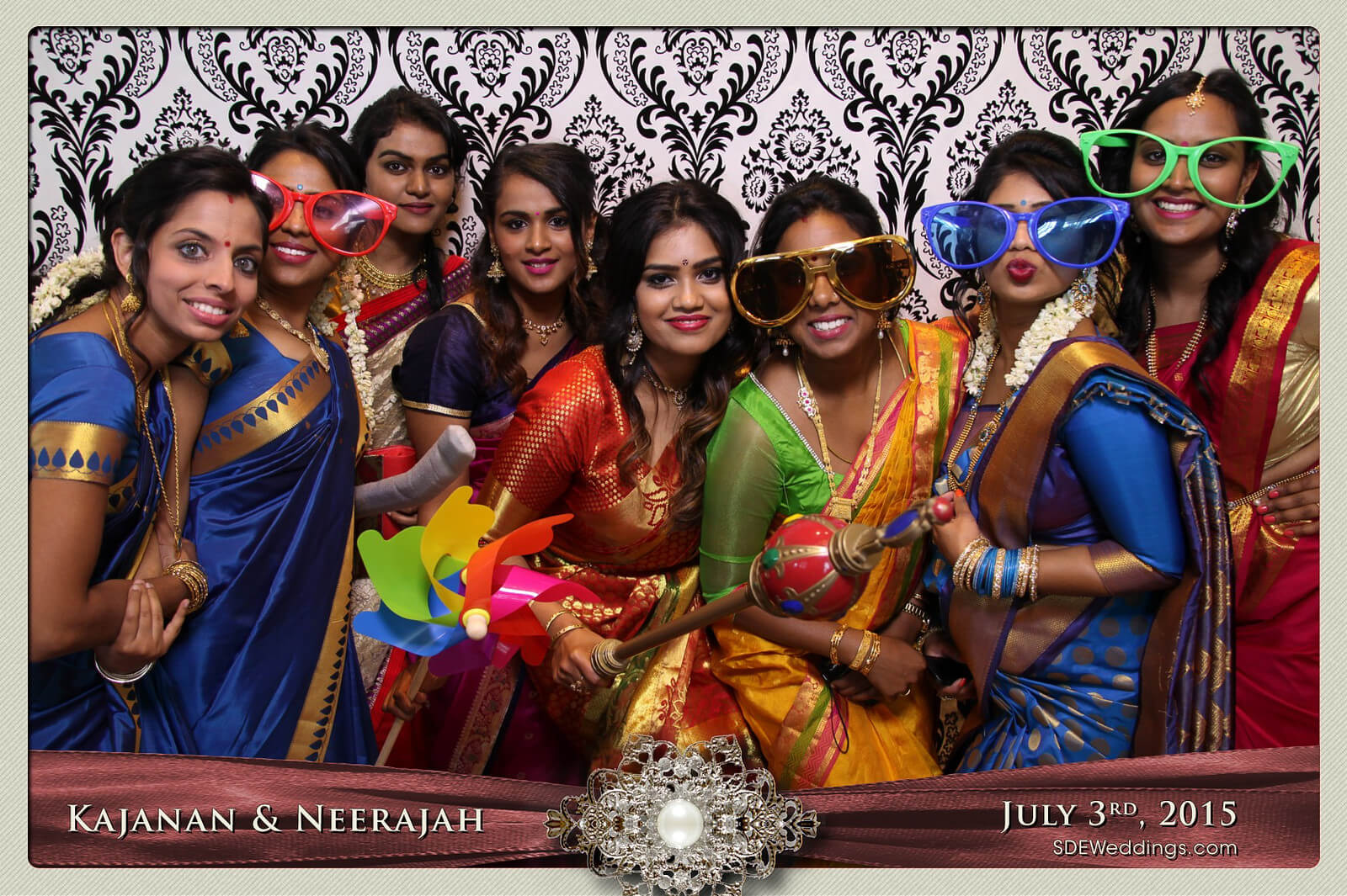 Toronto Scarborough Convention Centre Hindu Wedding Photo Booth Rental 5