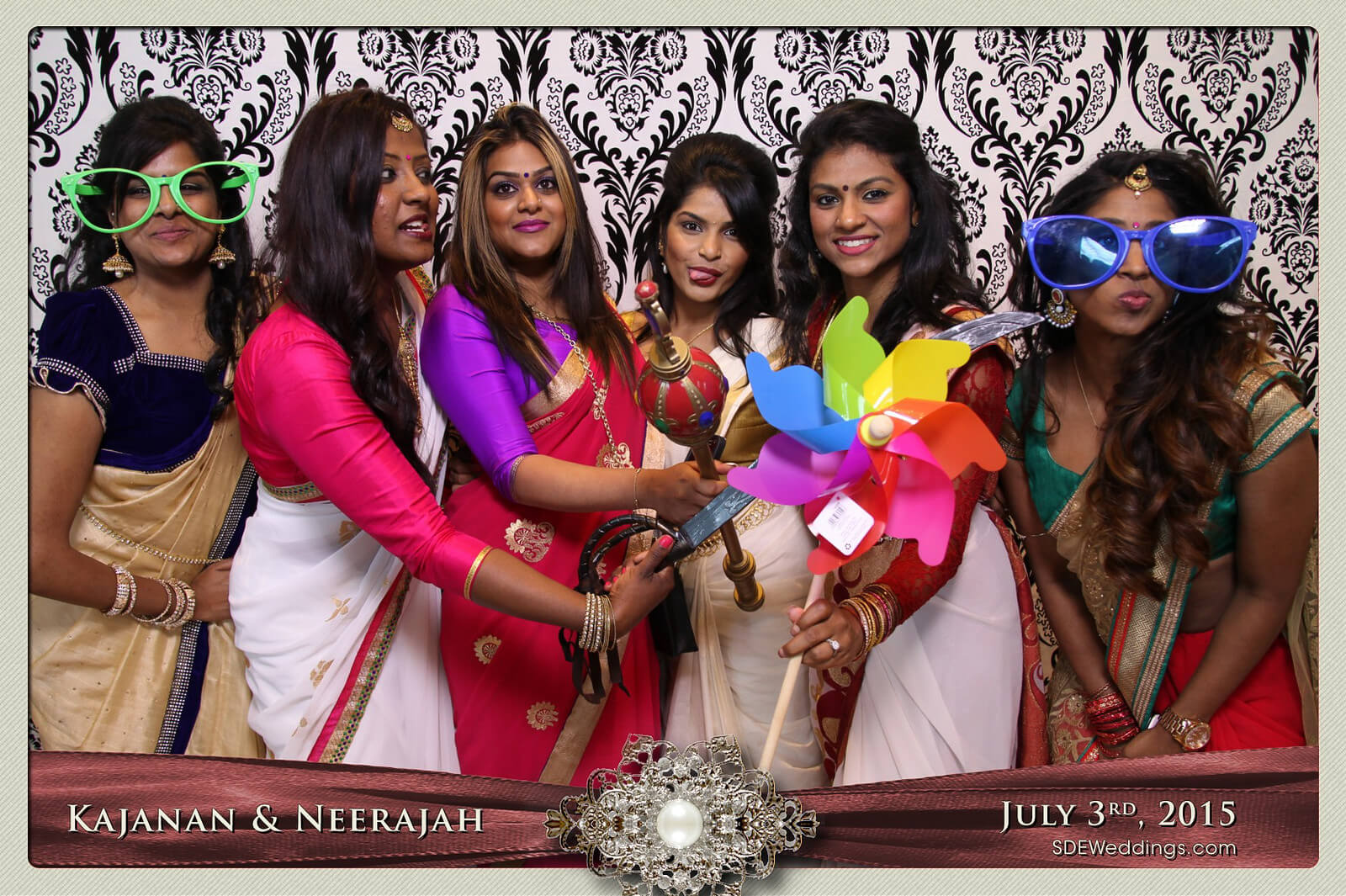 Toronto Scarborough Convention Centre Hindu Wedding Photo Booth Rental 6