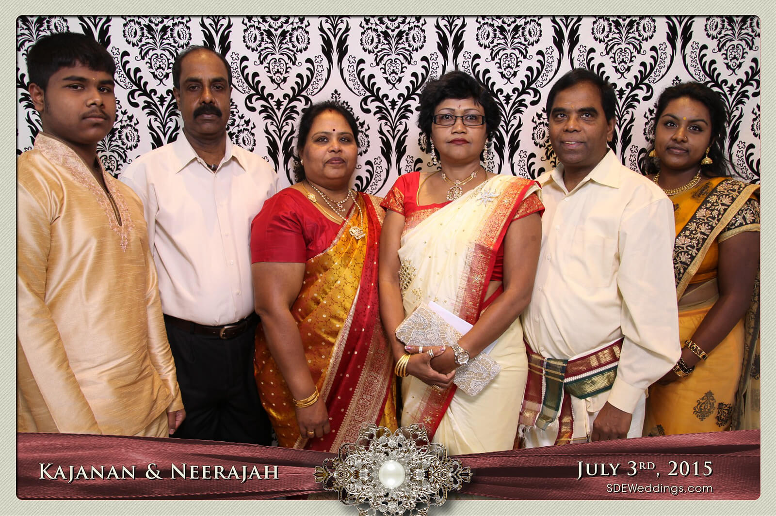 Toronto Scarborough Convention Centre Hindu Wedding Photo Booth Rental 7