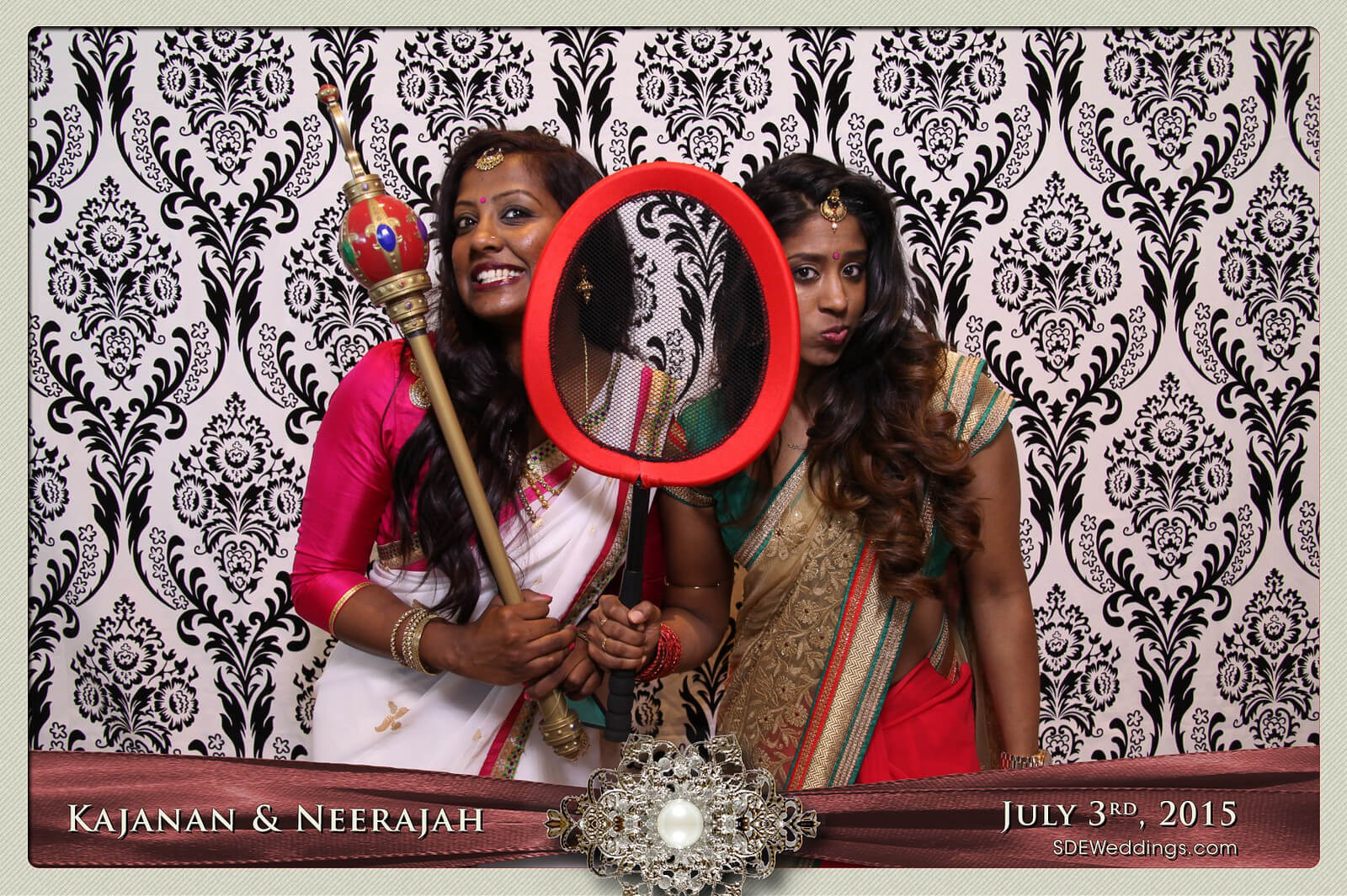 Toronto Scarborough Convention Centre Hindu Wedding Photo Booth Rental 8