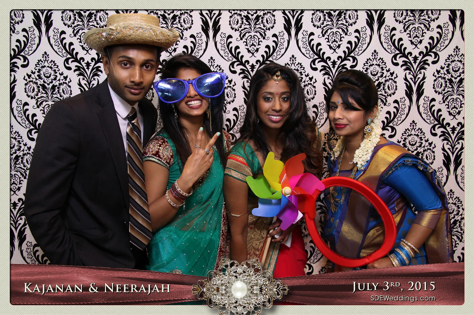 Toronto Scarborough Convention Centre Hindu Wedding Photo Booth Rental 9