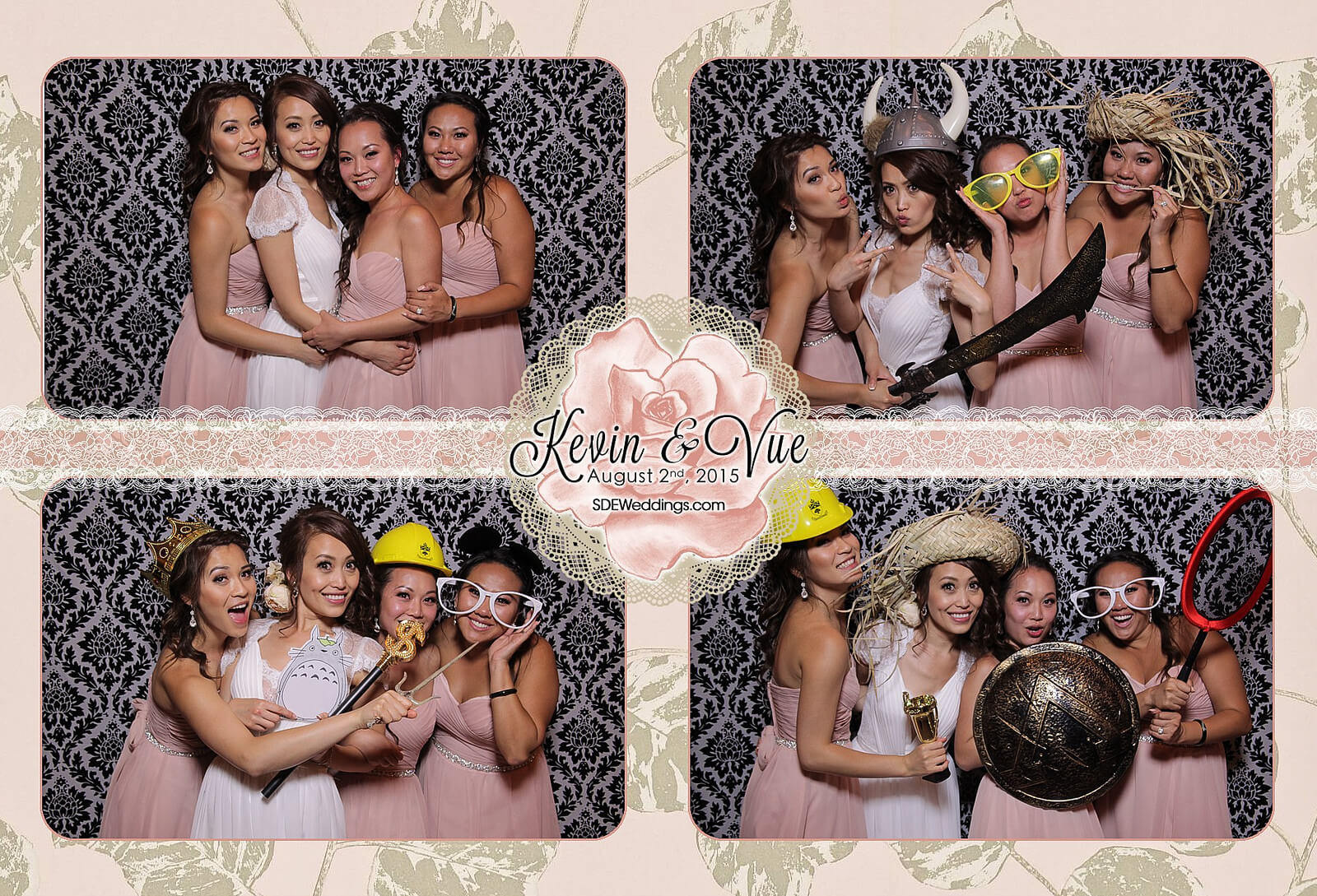 Photo Booth Rental at Hamilton Wedding in Carmen's Banquet Centre 1
