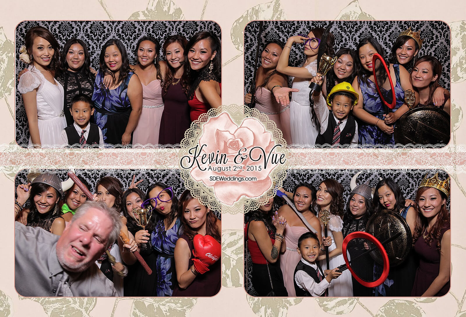 Photo Booth Rental at Hamilton Wedding in Carmen's Banquet Centre 2