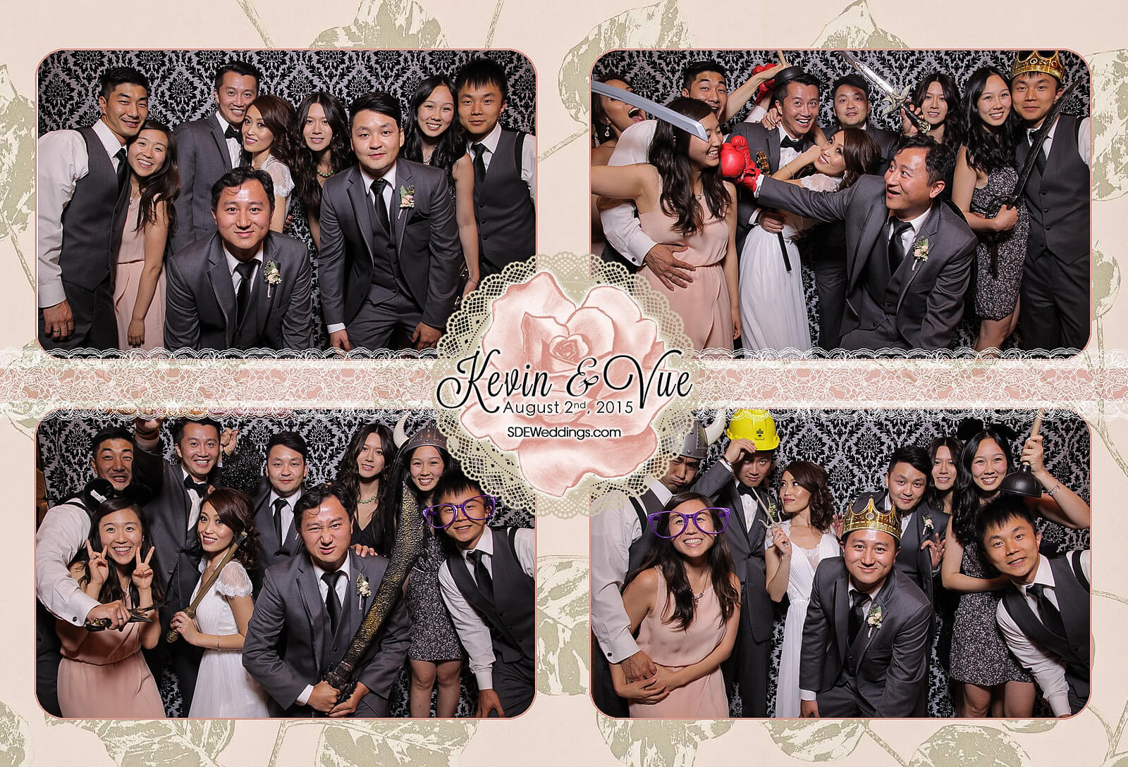 Photo Booth Rental at Hamilton Wedding in Carmen's Banquet Centre 3