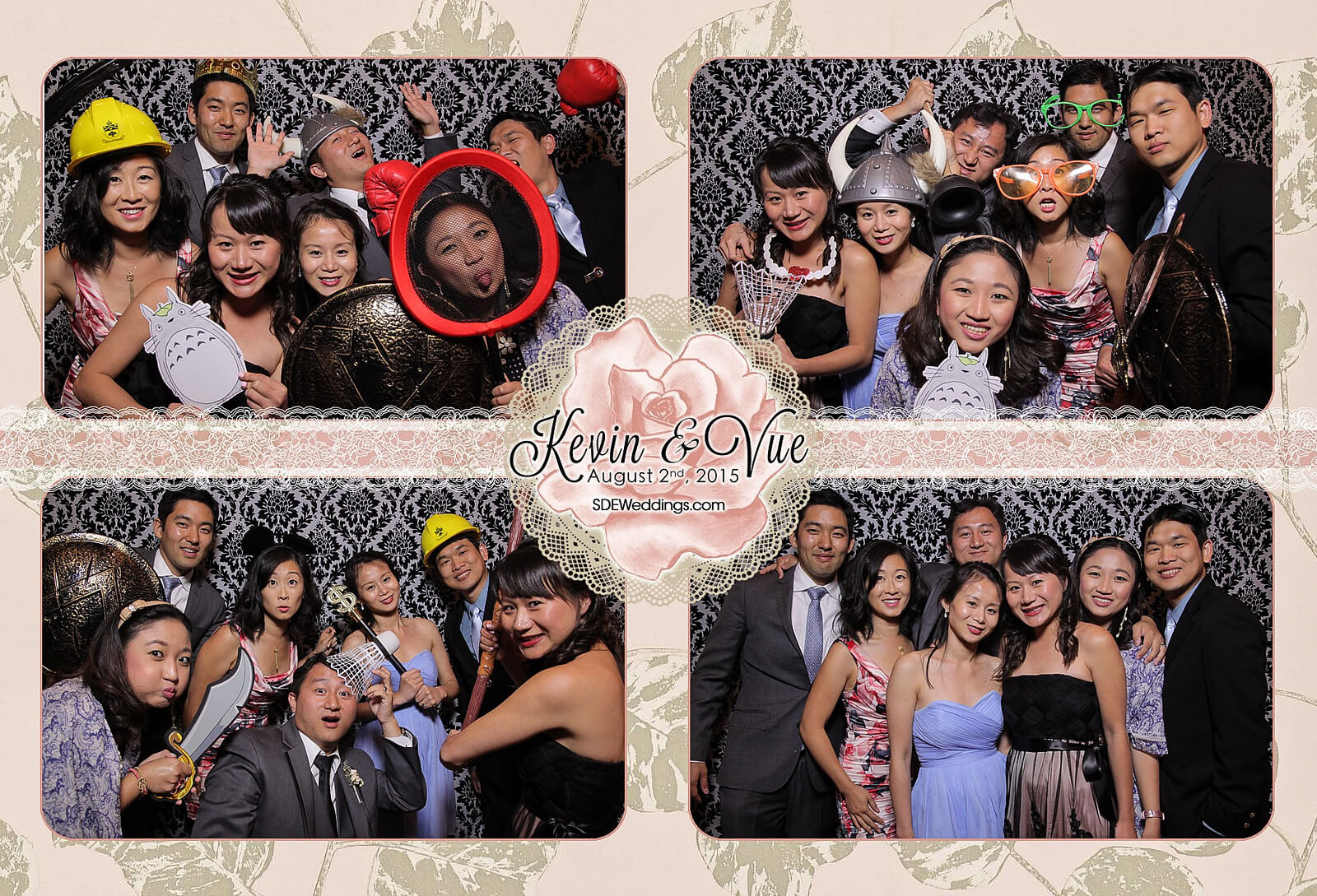 Photo Booth Rental at Hamilton Wedding in Carmen's Banquet Centre 4
