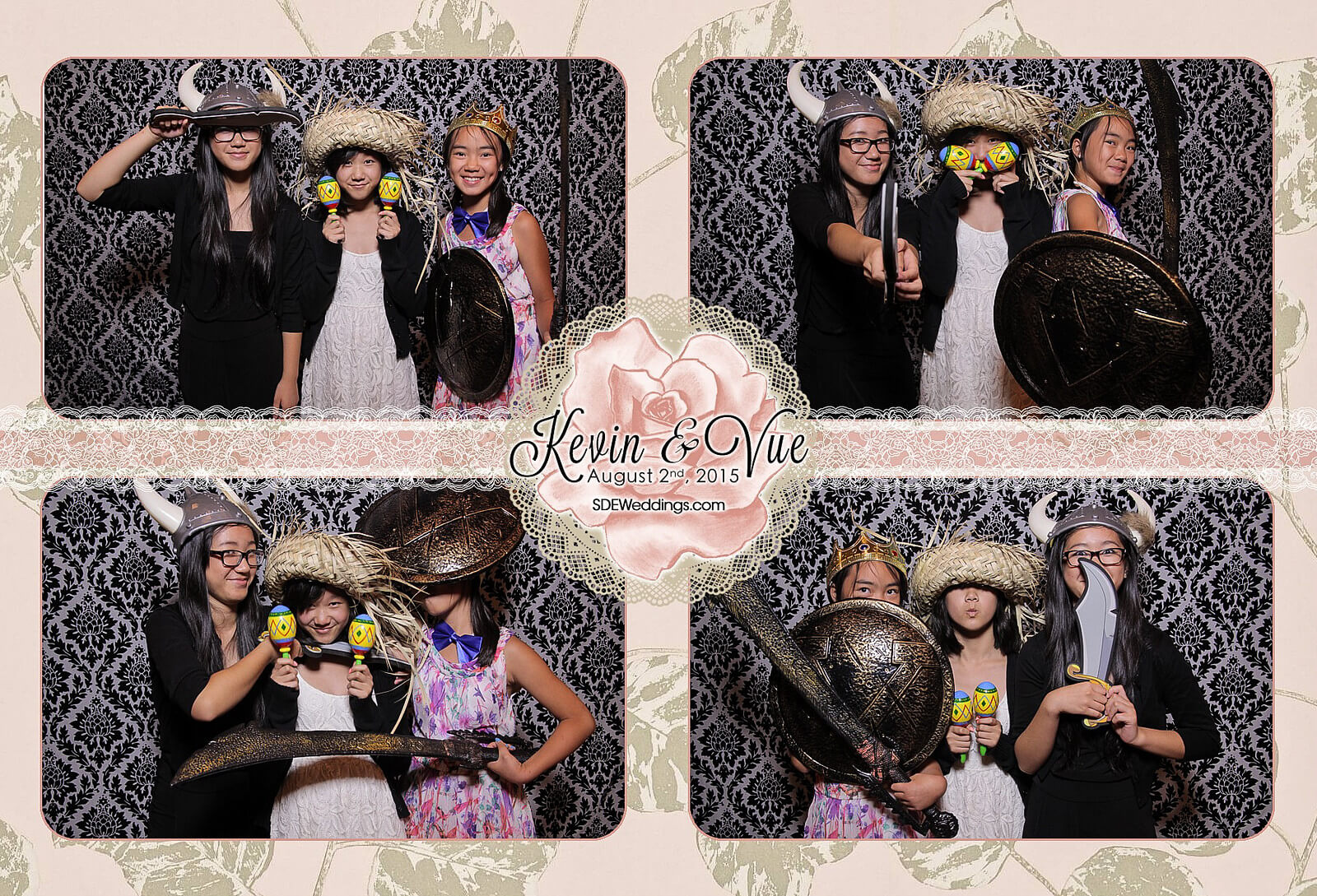 Photo Booth Rental at Hamilton Wedding in Carmen's Banquet Centre 7