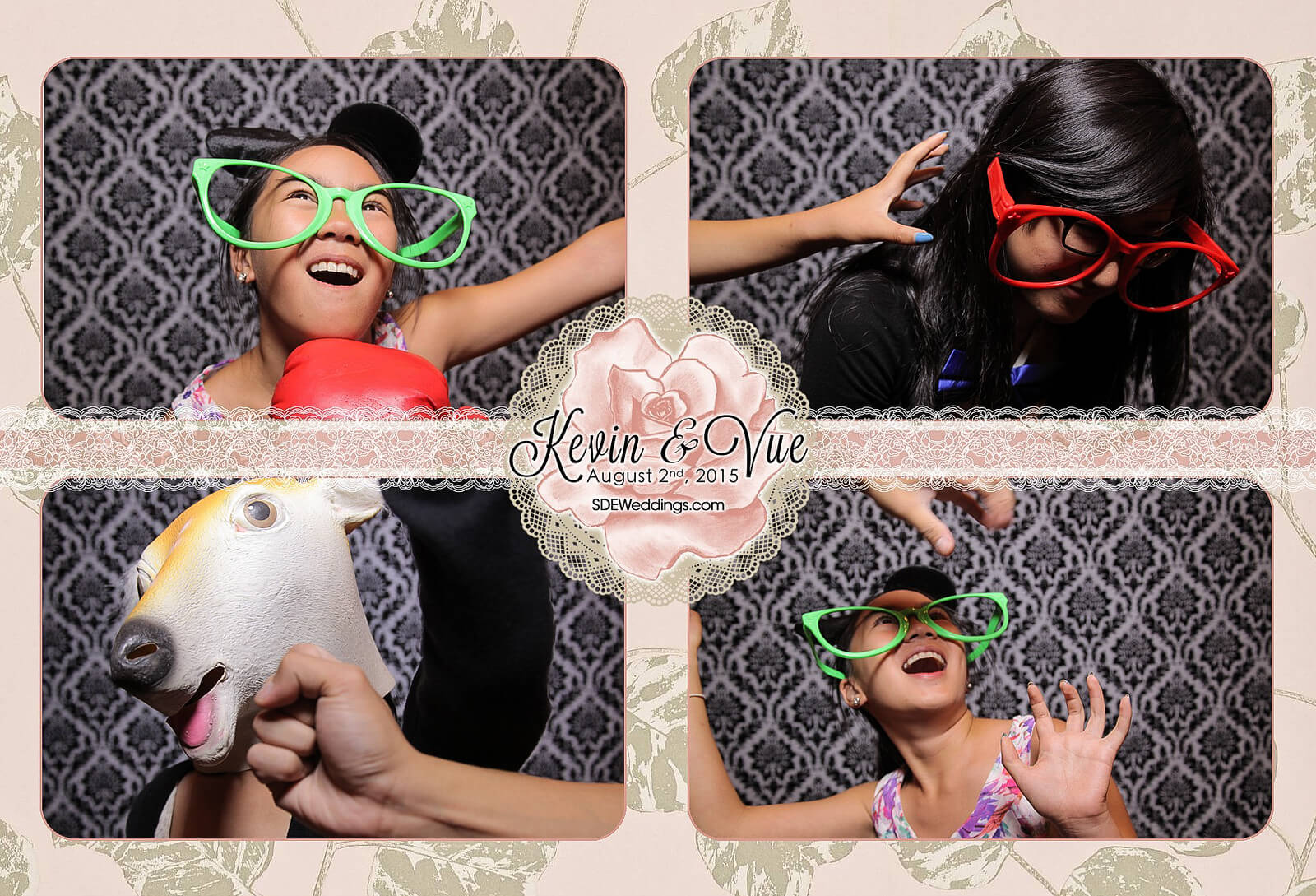 Photo Booth Rental at Hamilton Wedding in Carmen's Banquet Centre 9